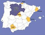 カスティーリャ・イ・レオン 地理