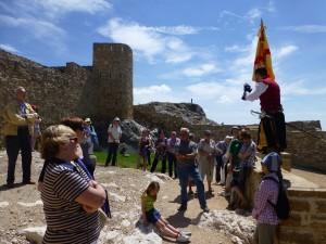 歴史的古城の散策
