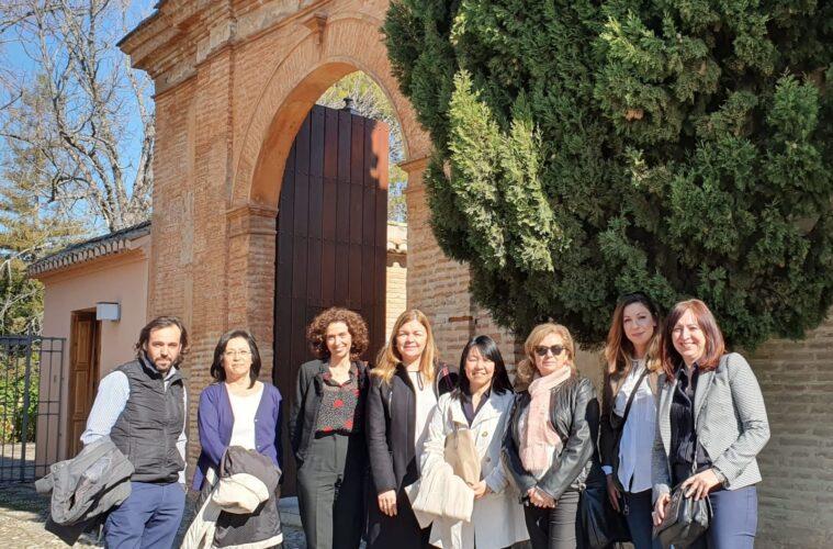 日系旅行業界企業、アルハンブラ宮殿・ヘネラリフェ財団と会合開催