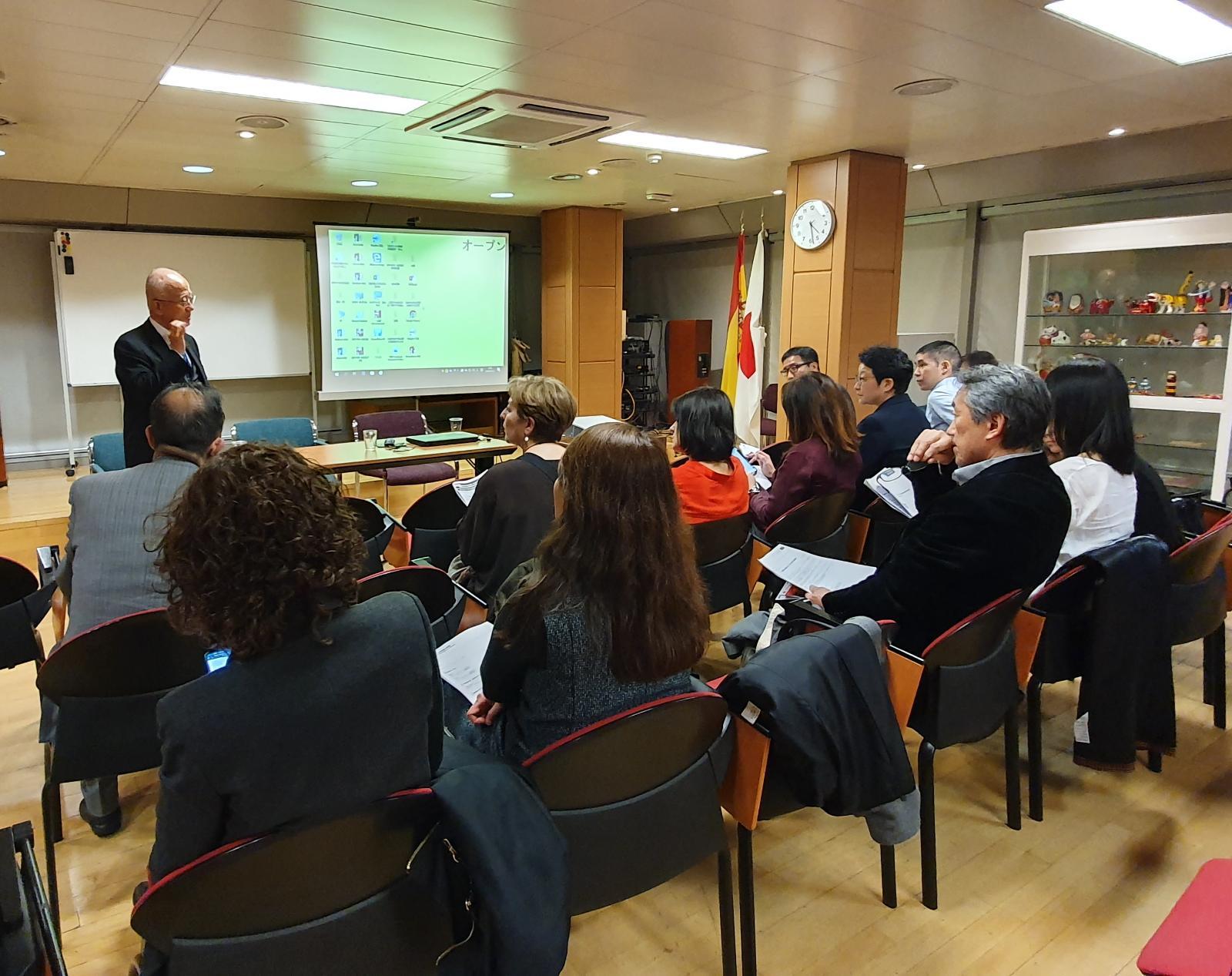 在 スペイン 日本 大使 館